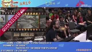 Tony Hawk's Pro Skater 3 by George in 8:54 - SGDQ2014