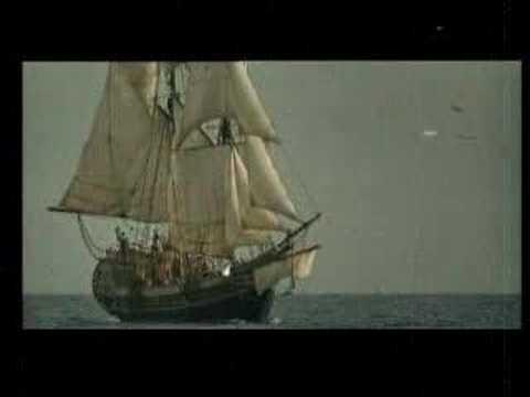 Индеец и корабли Колумба