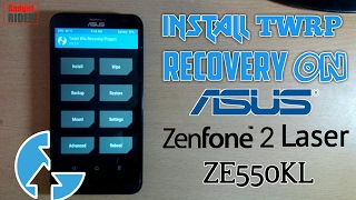 How to install TWRP on Asus ZenFone 2 Laser ZE55Okl [Hindi & English subtitle] [Easiest method]