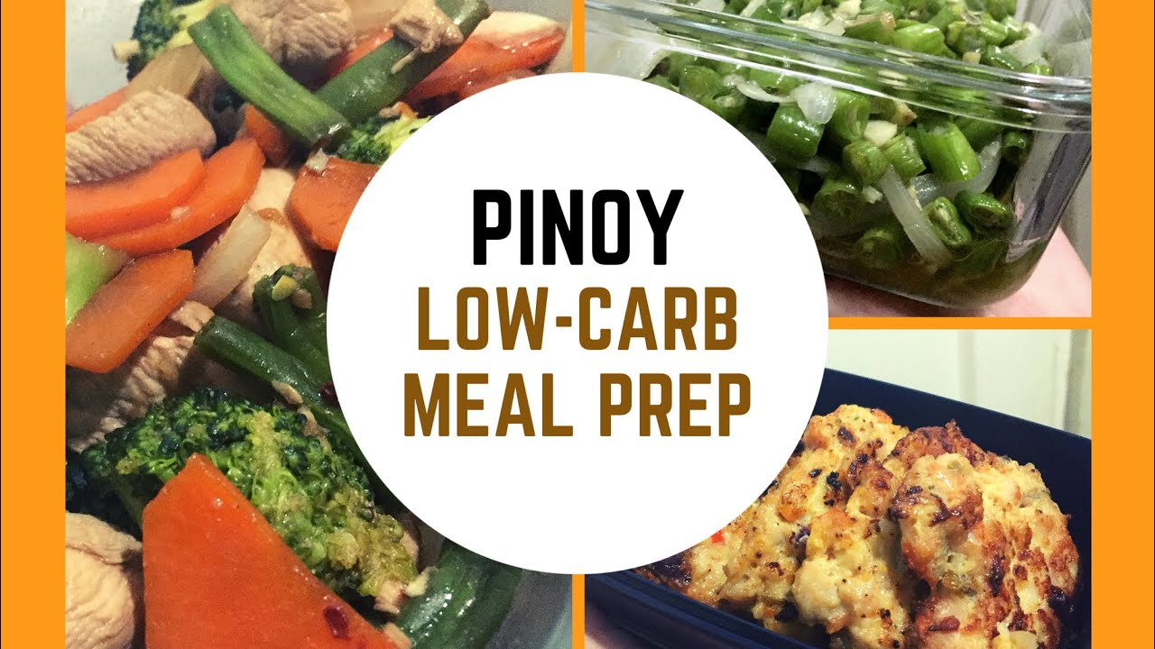 Pinoy Low Carb Meal Prep 2 Keto Philippines Keto Recipes Youtube