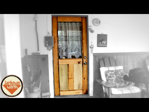 How to Build a Door from Scratch (Mission Style)