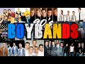 90's BOYBANDS  Backstreet Boys, Boyzone, Westlife, NSync, Five, Blue, O Town, Plus One