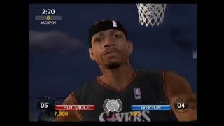 NBA Ballers Phenom Hot Sauce Vs  Allen Iverson Gameplay [HD]