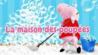 Peppa Pig et George en français pour enfants: le surprise pour l'anniversaire de maman Pig
