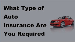 2017 Car Insurance FAQs | What Type of Auto Insurance Are You Required to Buy