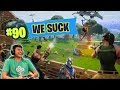 Ireland Boys PLAY FORTNITE! (TOP 90)