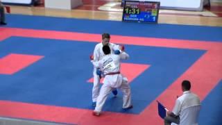 Juegos Mundiales Cali 2013 Karate Do Kumite Masculino Colombia vs Alemania
