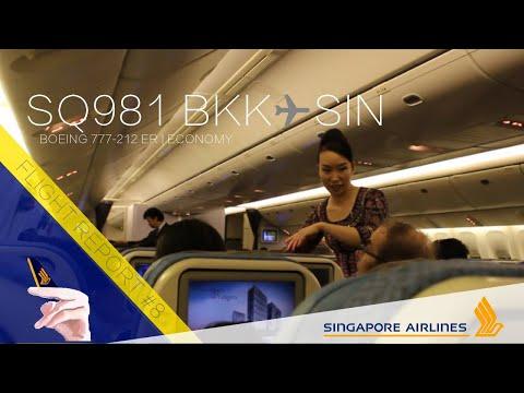 Singapore Airlines RETROFITTED B777-200ER Flight Report | SQ981 Bangkok ✈ Singapore
