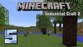 Minecraft Industrial Craft 2 5 Гевея, латекс, резина, медный провод.