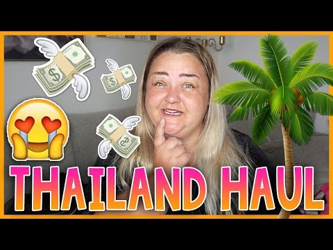 THAILANDS HAUL | Visar er den ni ABSOLUT INTE får köpa!