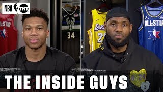 LeBron and Giannis React to All-Star Game Changes | NBA on TNT