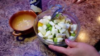 Фруктовый салат ( яблуко, ананас, киви, виноград и персик ) / Fruit salad