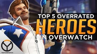 Top 5 MOST Overrated Heroes In Overwatch