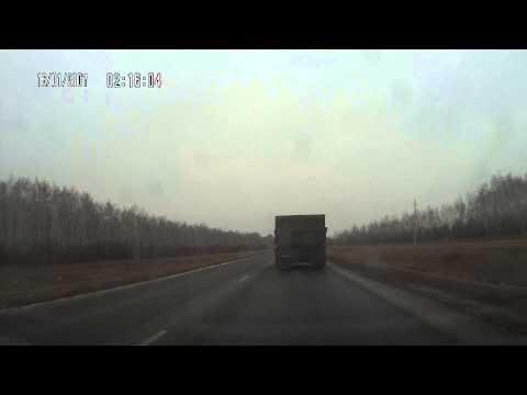 авария на 69 км Омск Русская Поляна 28.11.2013г.