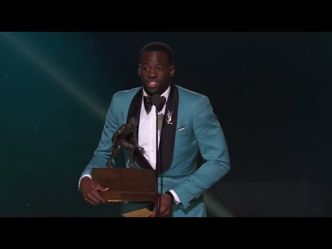 Thumbnail: NBA Defensive Player Of The Year Draymond Green (Full Speech) | NBA Awards Show 2017