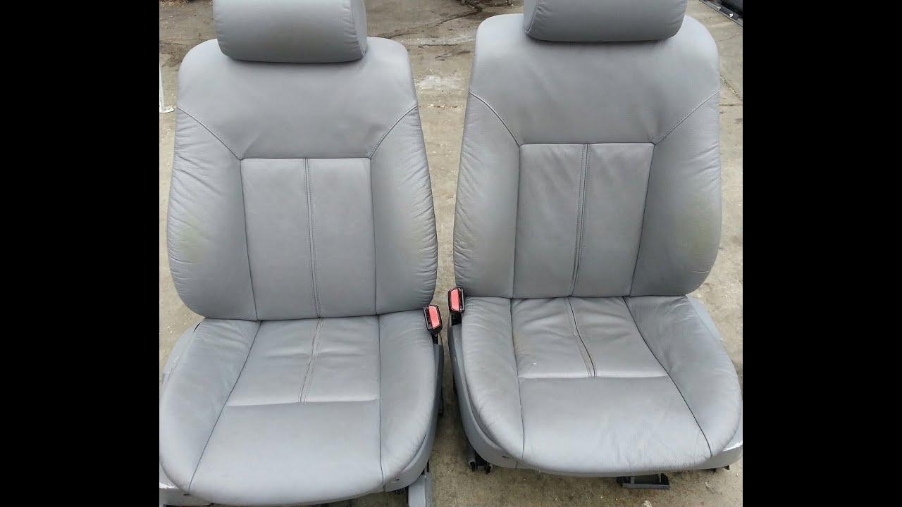 e39 sport seat removal
