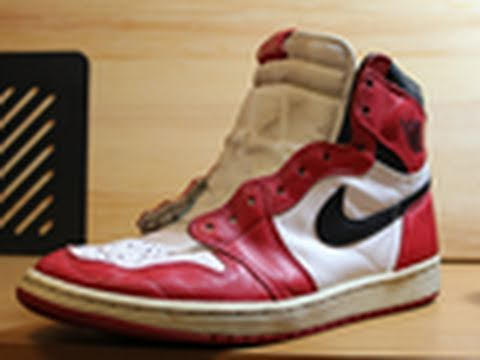 Restore My Sneakers Opening Restoration Project: Air Jordan 1