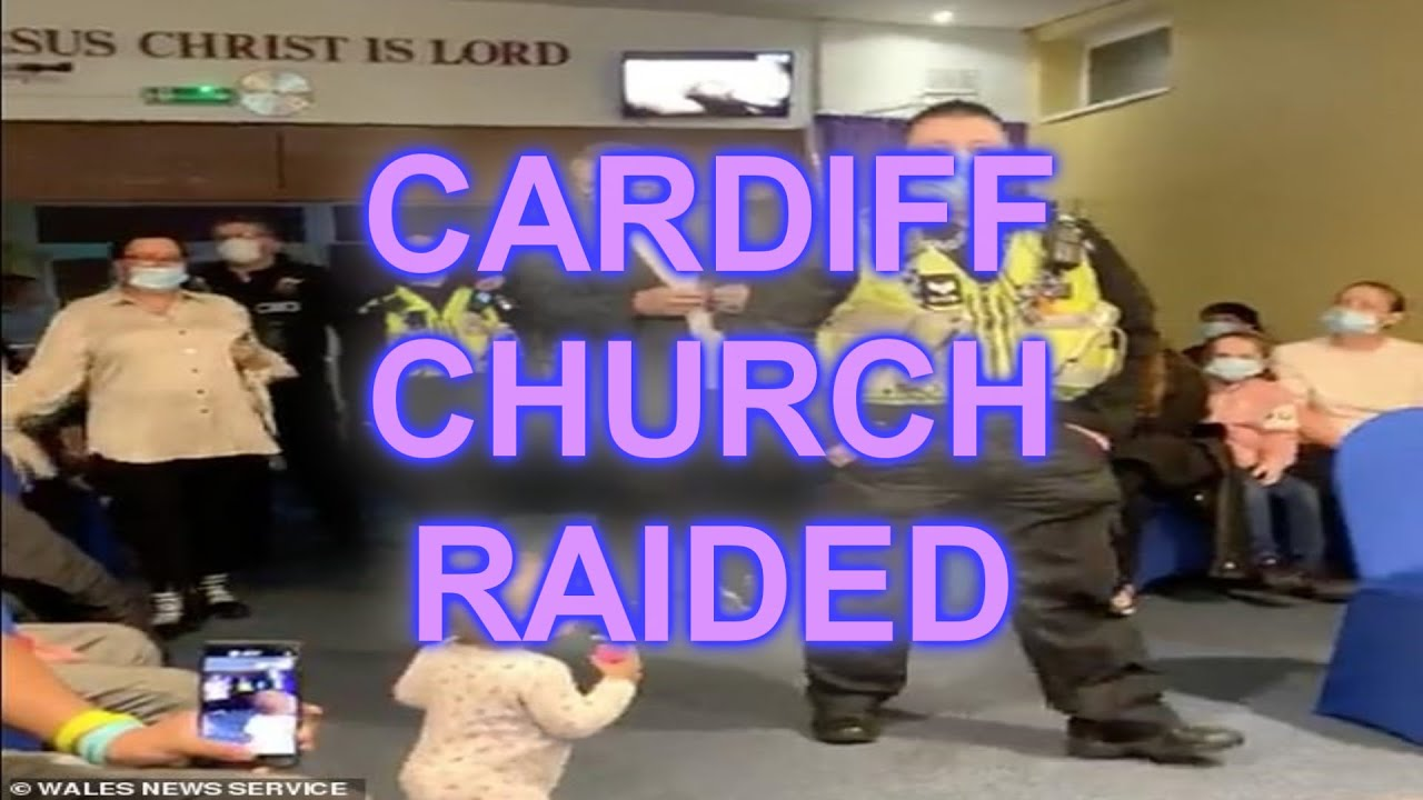 Welsh church raided by Police