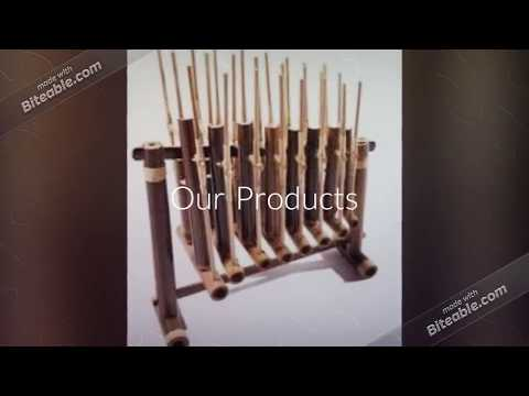Angklung Indonesian Bamboo Traditional Musical Instrument Sunda Percussion Supplier