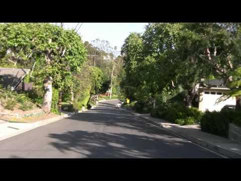 Pacific Palisades - Santa Monica California, Ocean unique view HD Canon VIXIA HV30 - Видео онлайн