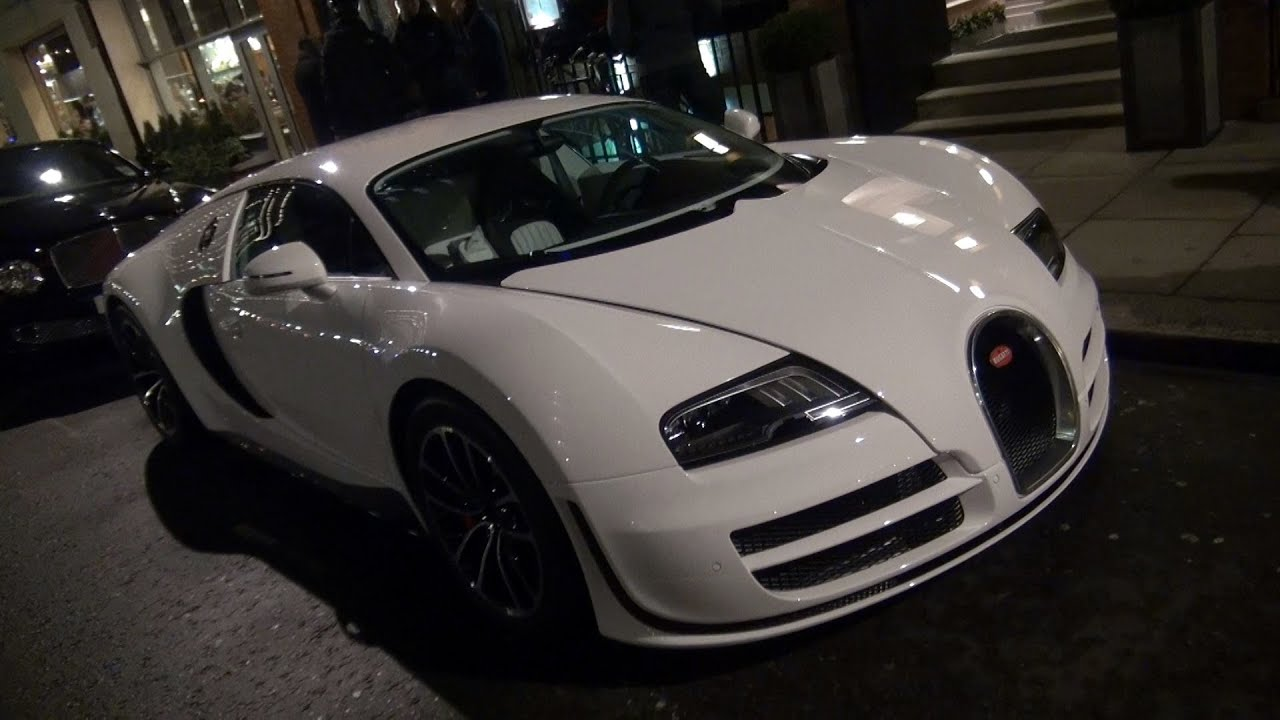 Bugatti Veyron Super Sport - Startup and Driving - YouTube on