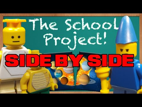 SML Lego: The School Project! (Side By Side)
