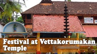 Festival at Vettakorumakan Temple
