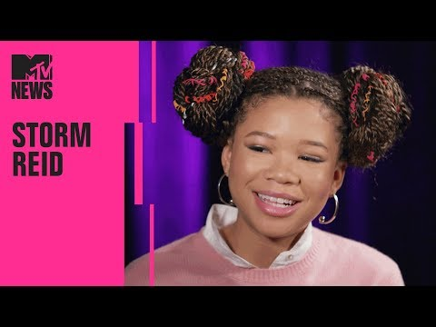 Storm Reid on 'A Wrinkle In Time' & Working w Ava DuVernay  MTV