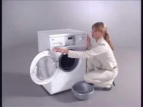 Руководство по эксплуатации стиральной машины LG