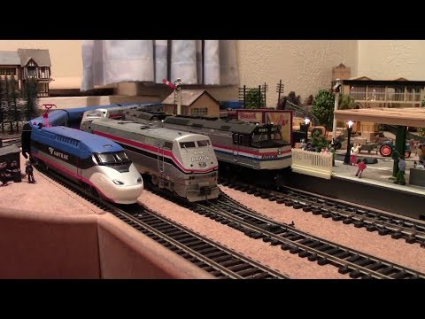 Amtrak Avelia Liberty Prototype Model – First In The World! Hornby Triang Bachmann & More!