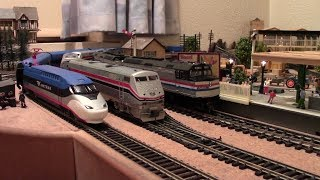 Amtrak Avelia Liberty Prototype Model - First In The World! Hornby Triang Bachmann & More!