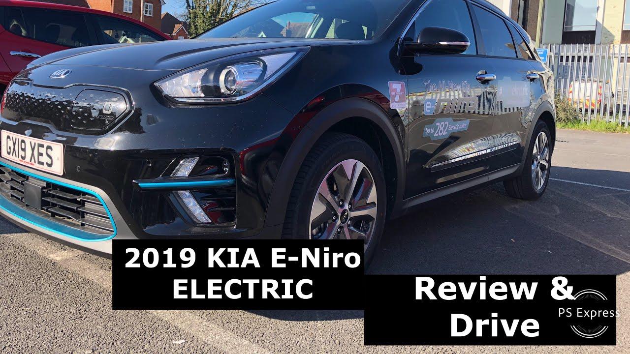 2019 Uk Kia E Niro Electric Test Drive And Review Youtube