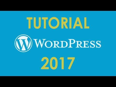 TUTORIAL DE WORDPRESS 2017 - en español - YouTube