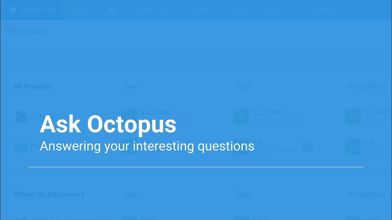 Ask Octopus Episode 25-27 - Centralized Logging, Worker working