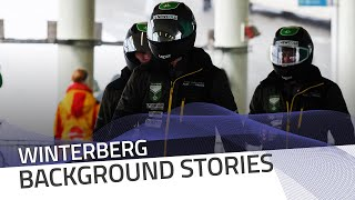 How Winterberg track feels for the brakemen | IBSF Official