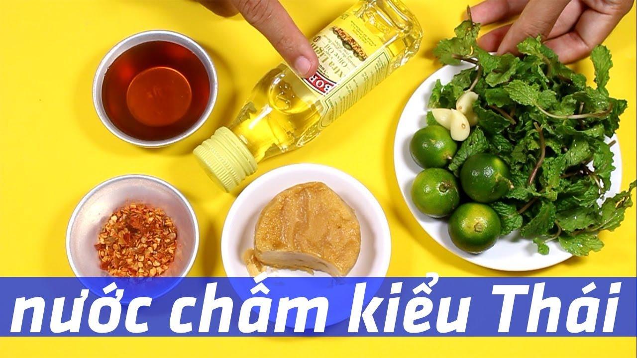 Pha nước chấm chua cay kiểu Thái cực ngon | Món ngon dễ làm Tập 43