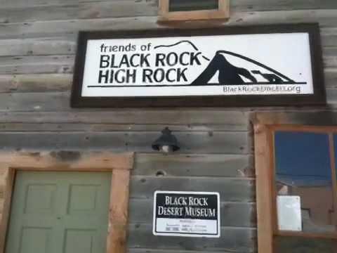 Friends of Black Rock High Rock Museum, Gerlach, NV