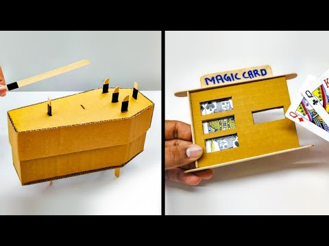 2 Amazing DIY Magic From Cardboard !!!
