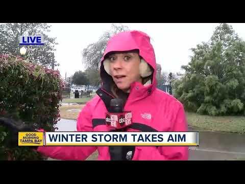 Winter storm takes aim on Florida