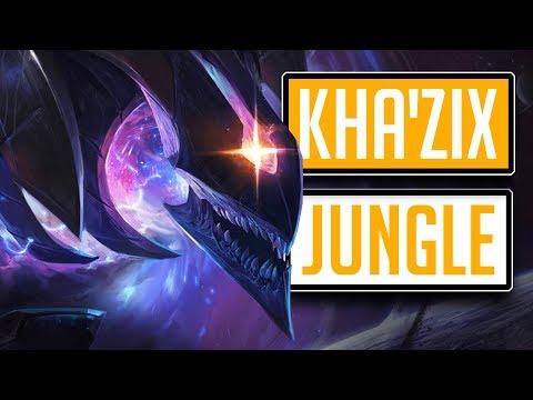 League of Legends #590: KhaZix Jungle Rozsekám je na kusy