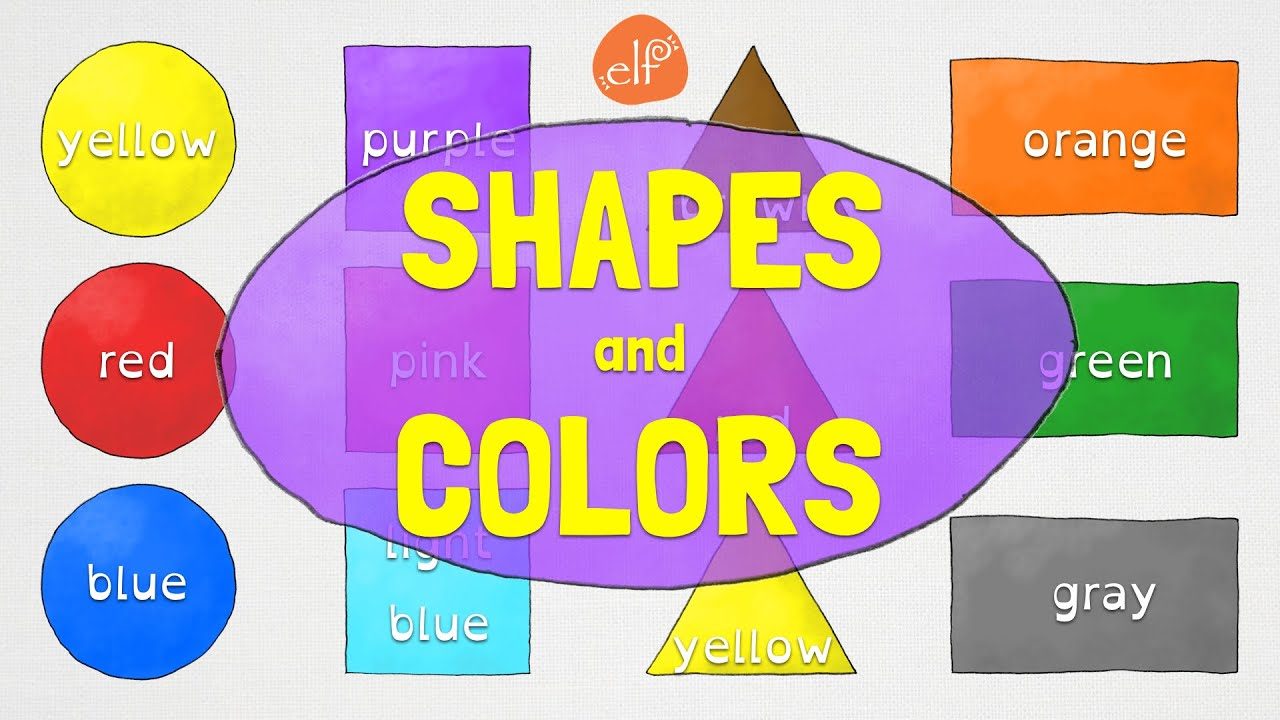 Shapes And Colors For Kindergarten And Preschool Children