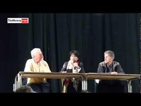 Euro Députée Michèle Rivasi EELV questionnée sur les CHEMTRAILS 6 Mars 2014   YouTube 240p