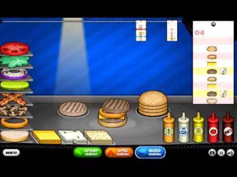 Papas Burgeria HD for Android All Customers Unlocked