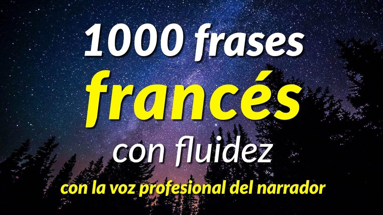 1000 Frases Francés Con Fluidez Con La Voz Profesional Del Narrador