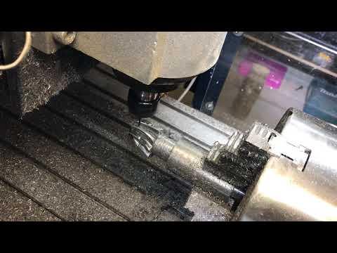 4 axis steel milling DIY 3/3