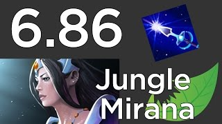 6.86 Mirana Jungle Guide - Dota 2