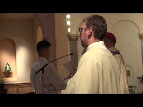 Mass of profession of Sr Guerline and Sister Joo Yun