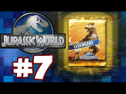 LEGENDARY PACK OPENING | Jurassic World: The Game - Part 7