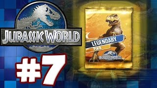 LEGENDARY PACK OPENING | Jurassic World: The Game - Part 7