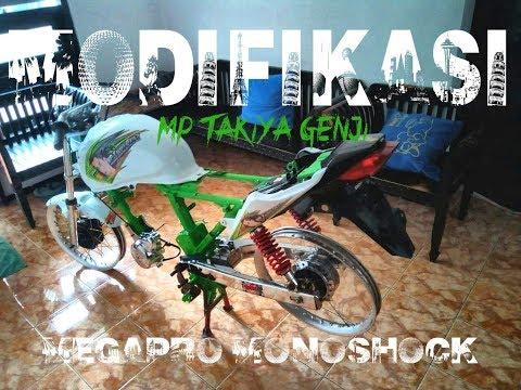 Modif New Megapro Tampilan baru   MP TAKIYA GENJI REBORN   PART I
